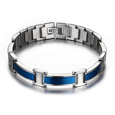 healthy magnetic stainless steel bracelet & bangle