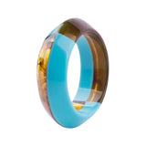 colorful lucite round bangle & bracelet for woman