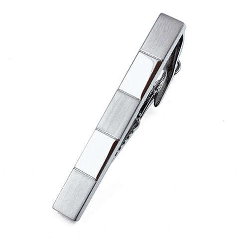 simple design metal tie clip for men