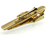 trendy golden trumpet tie clip bar for men