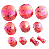 acrylic ear plugs tunnels piercing earrings