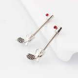 stainless steel gun shape piercing nipple ring