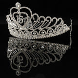 sweet 16 crystal tiara with hair combs crown hair jewelry