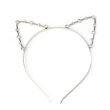 sexy cat ear crystal rhinestone head band hair jewelry