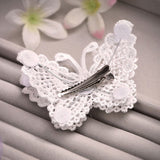 3 pcs romantic lace butterfly hair pins hair jewelry