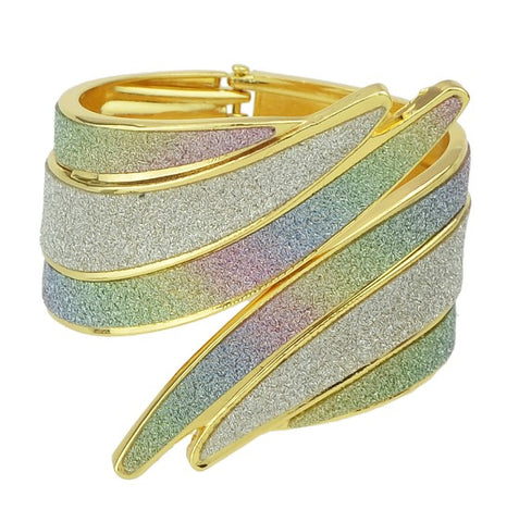colorful arm cuff bracelet big bangle for women