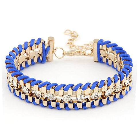 rhinestone bracelet & bangle for woman