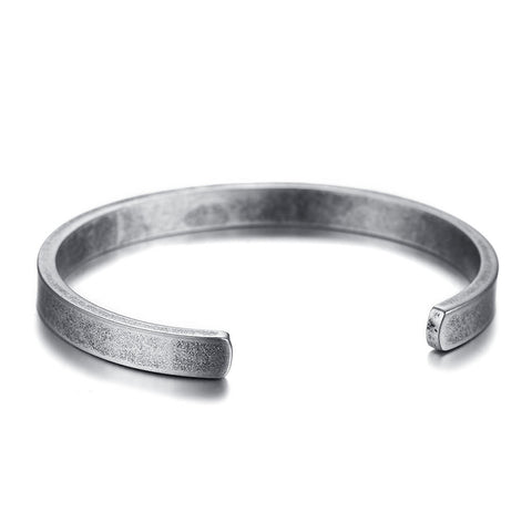 stainless steel cuff bracelet & bangle for men