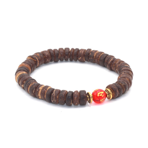 ethnic coconut shell beads chain bracelet for Women