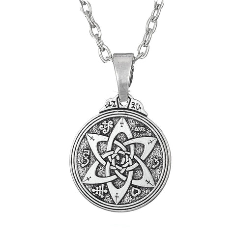 trendy hermetic talisman pendant necklace for men