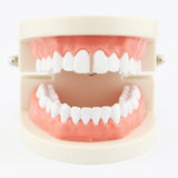 trendy stick shape single top teeth grills jewelry