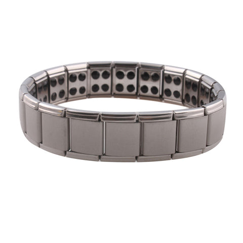 trendy stainless steel bracelet & bangle for men