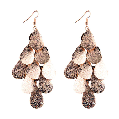 vintage long statement drop earrings for women