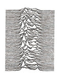 cool geometric mountain wave design temporary tattoo sticker