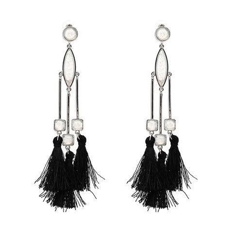 trendy tassel statement dangle earrings for woen