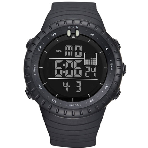 sport digital led face electronic fitness hand wrist watch