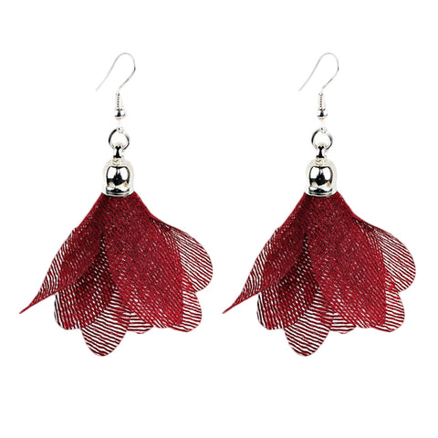 Romantic Flower drop Earrings For Women