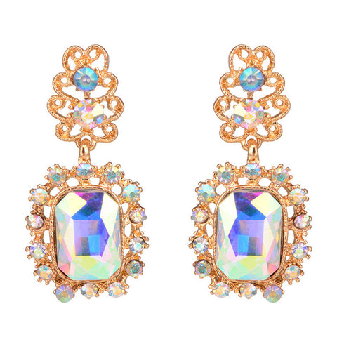 elegant style acrylic drop earrings for women