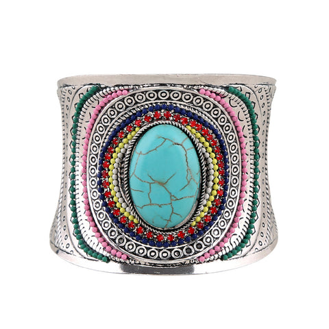 vintage curved cuff bracelet bangle for women