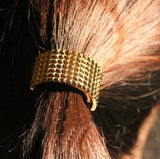 punk style elastic rubber hair band for women