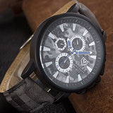 trendy military camouflage pattern quartz watch for men