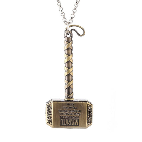 avengers thor hammer pendant necklace for Men