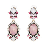 statement crystal stud earrings for women - very-popular-jewelry.com