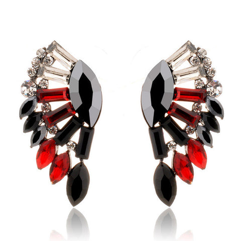 angel wings earrings - very-popular-jewelry.com