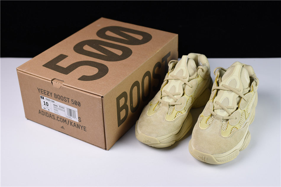 super popular ca412 e8112 Adidas YEEZY 500 - Super Moon Yellow