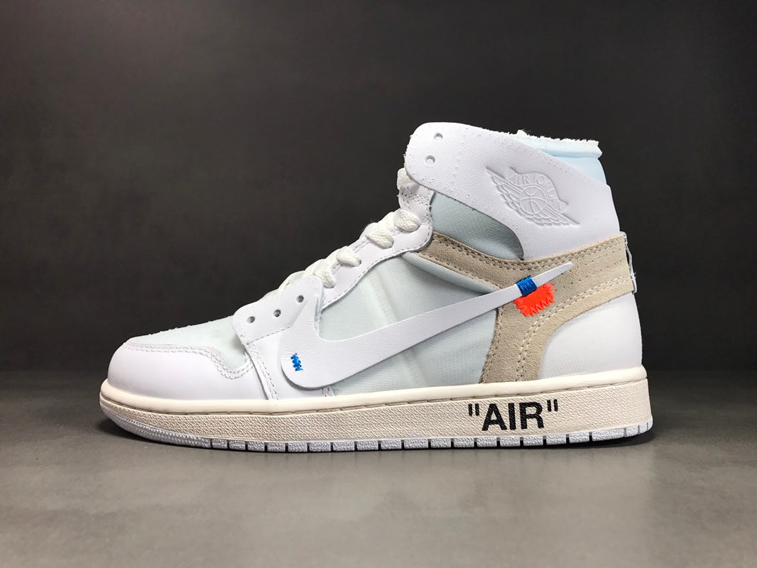 9373d5dcf50995 Air Jordan 1 Retro High Off-White White - SoleMate