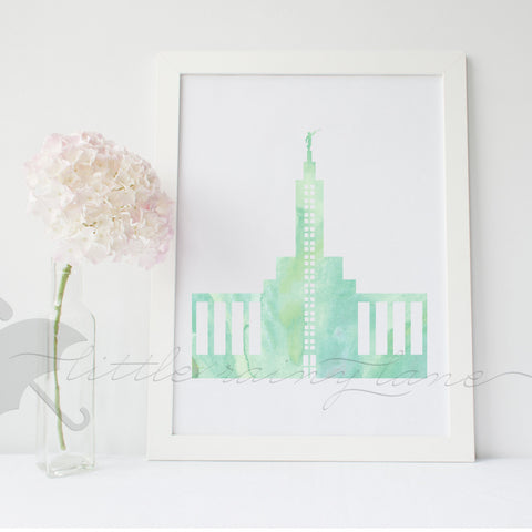 Boise Idaho Temple - LDS Temple art