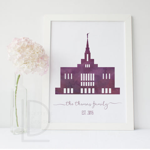 Ogden Temple - LDS Temple art