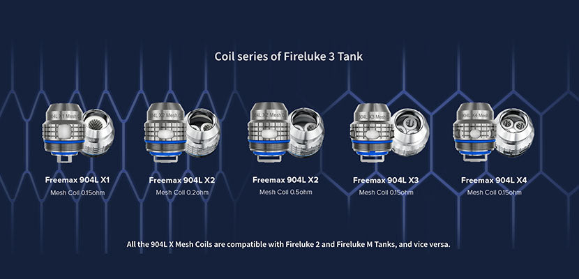 Freemax Maxus 100W Starter Kit Replacement Coils