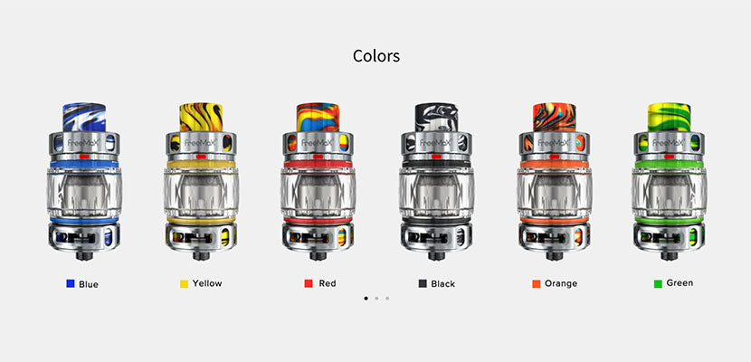 Freemax Maxus Pro Sub-Ohm Tank Colors