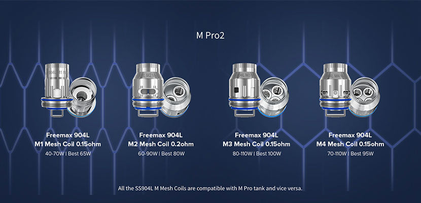Freemax Maxus Pro Sub-Ohm Tank Replacement Coils