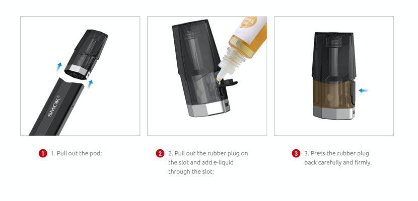 SMOK Nfix Pod System Side Fill
