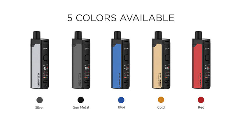 SMOK RPM Lite Pod System Colors