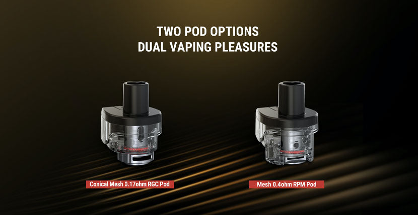 SMOK RPM80 Pod System Pod Options