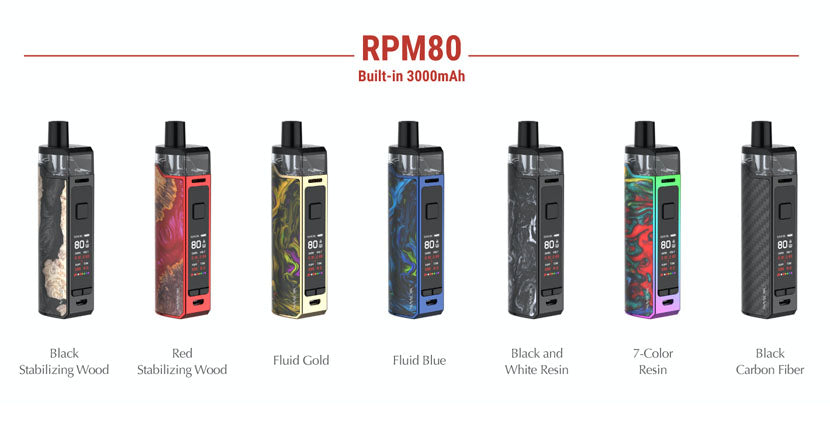 SMOK RPM80 Pod System Color