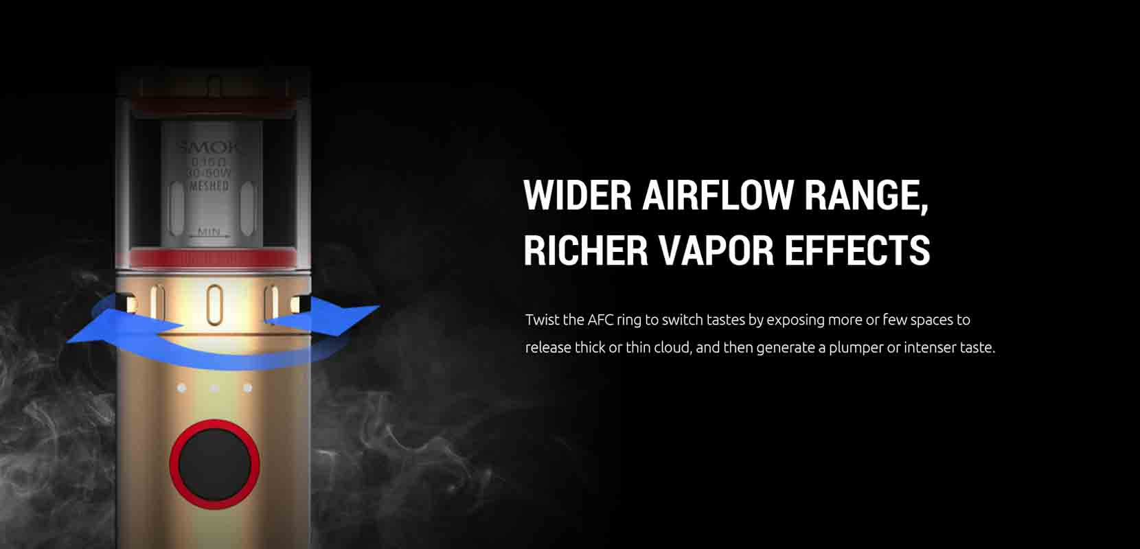 SMOK Vape Pen V2 Starter Kit Airflow