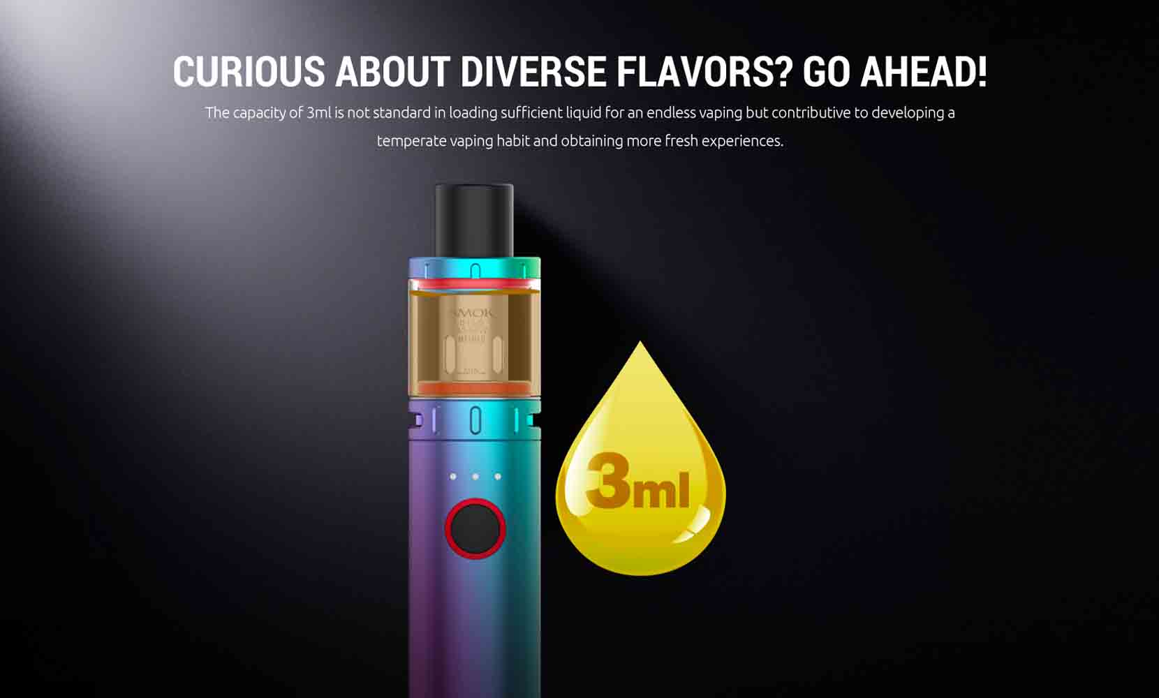 SMOK Vape Pen V2 Starter Kit Juice Capacity