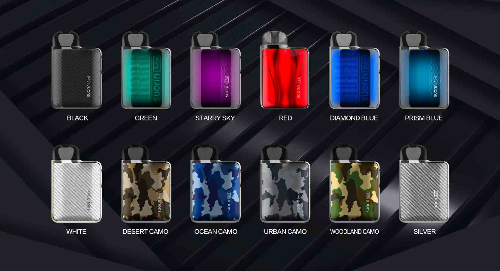 Suorin Ace Pod System Colors