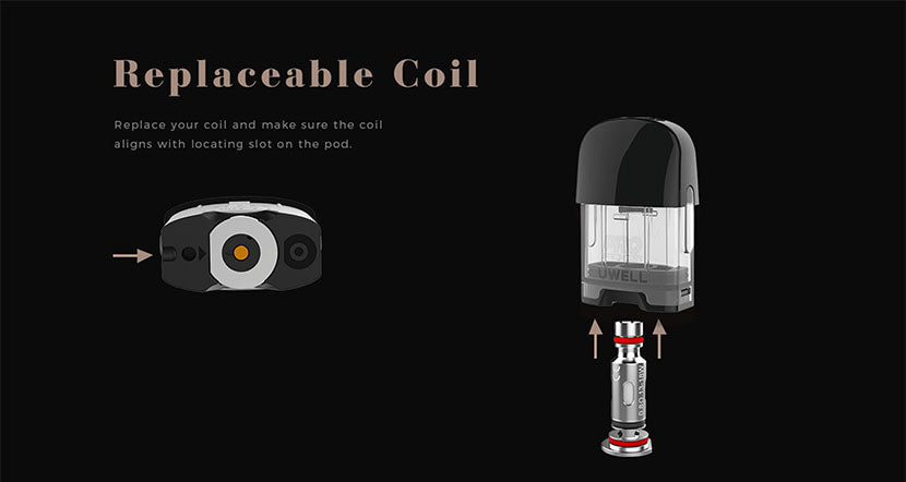 Uwell Caliburn G Pod System Replacement Coil