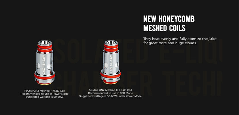 Uwell Nunchaku 2 Tank Replacement Coils