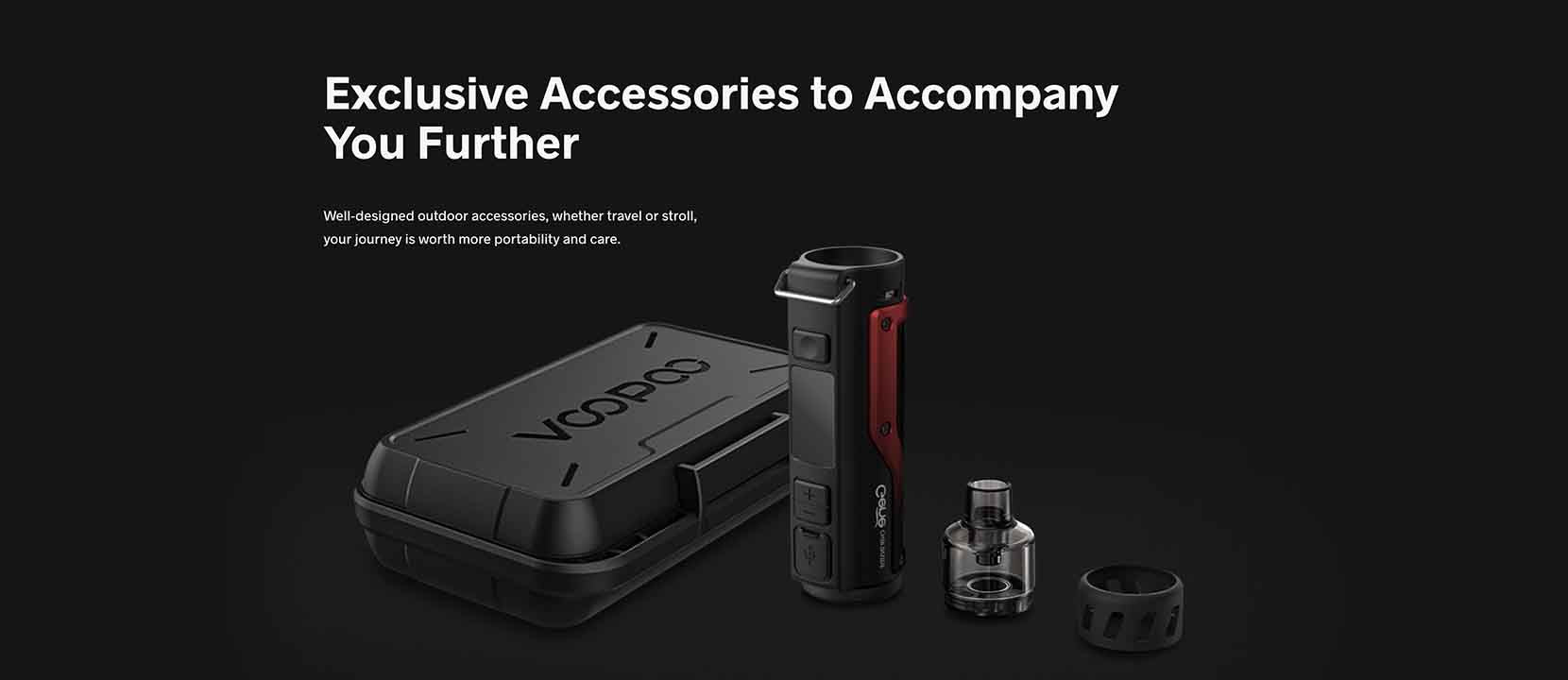 Voopoo Argus Pro 80W Pod System. Accessories