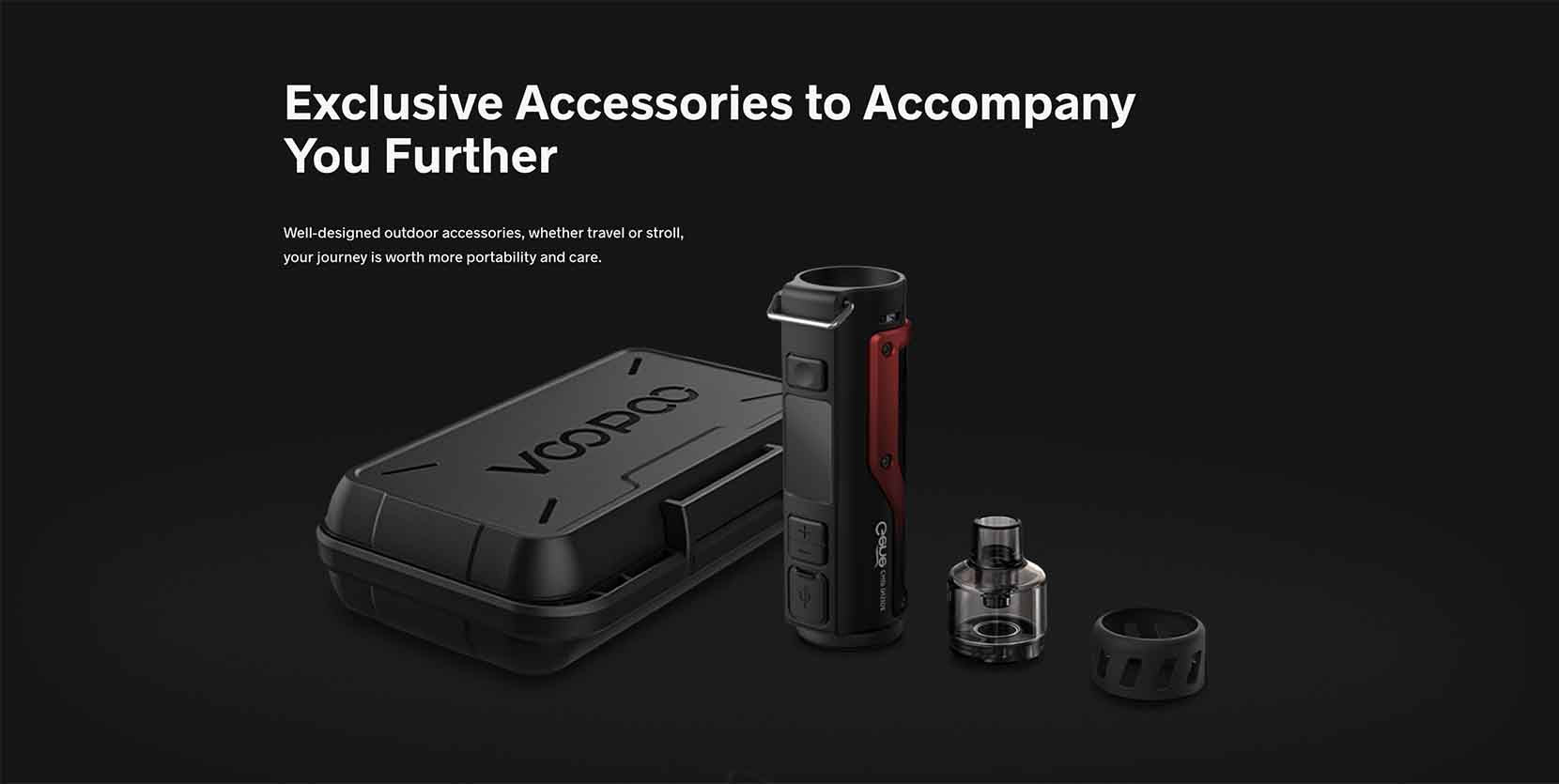 Voopoo Argus X Pod Mod Kit Accessories