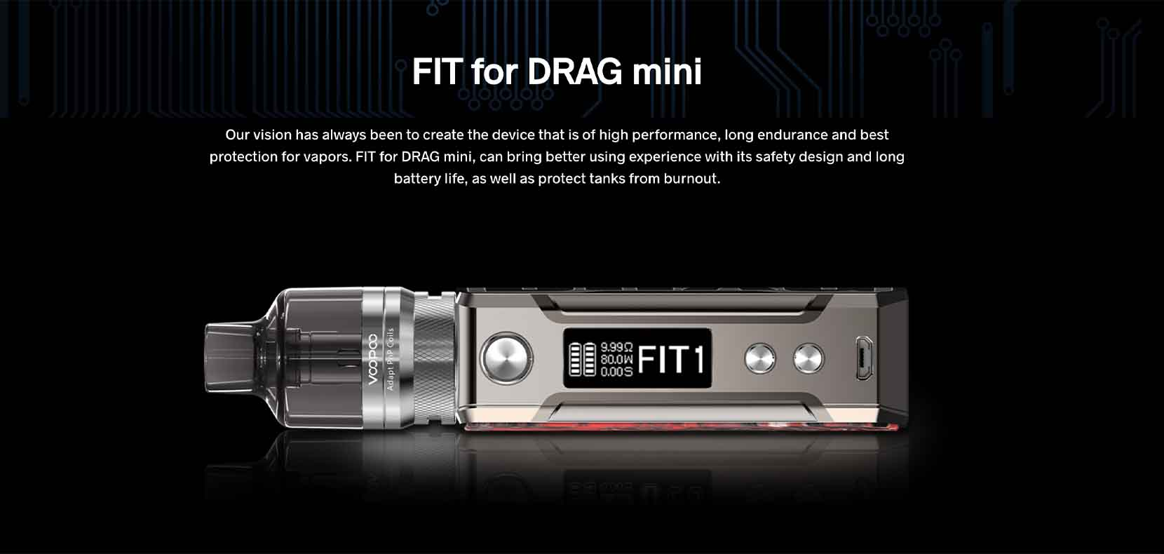 Voopoo Drag Mini Refresh Edition Fit Mode