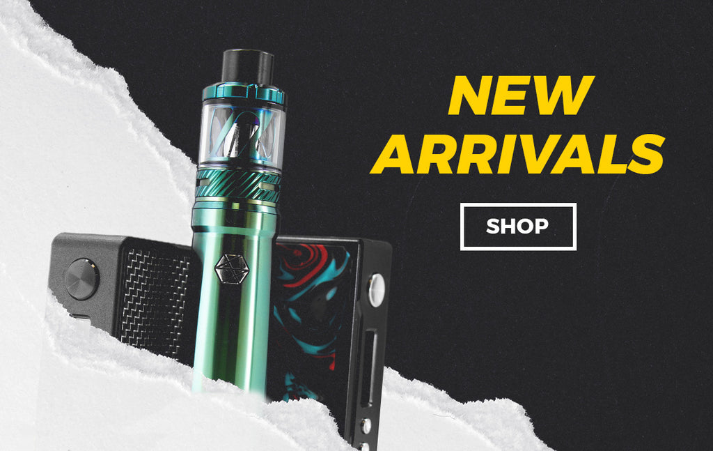 A collection of our newest vape products including E-Liquids, Atomizers, Devices, and Accessories.