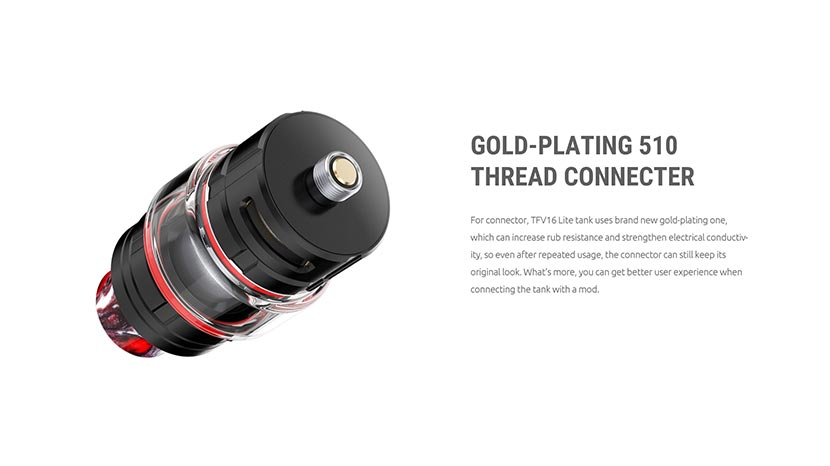 SMOK TFV16 Lite Gold Platted Connector
