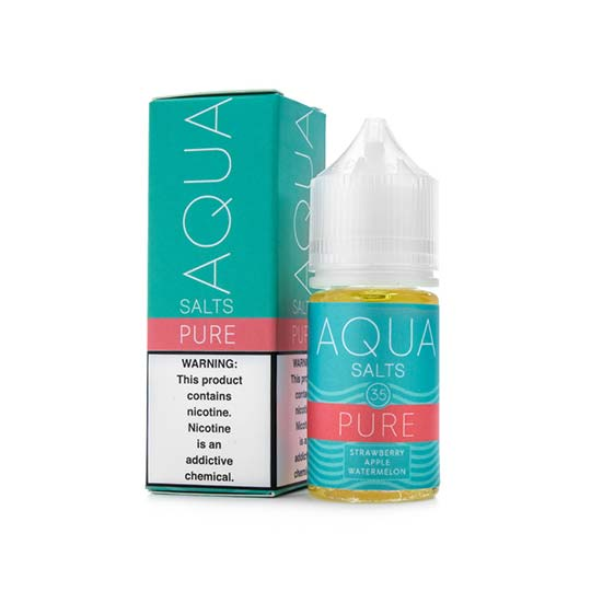 Best Salt Nic Vape Juice 2019 - 2020: Aqua Salts Pure | Vape Street